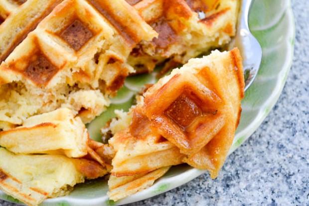 The Best Buttermilk Waffles-5
