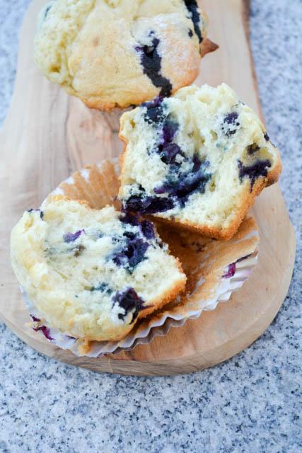 Blueberry Buttermilk Muffins – I am a Honey Bee