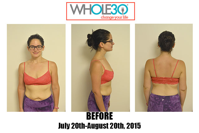 Nicole Whole30 #3 Before
