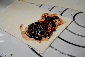 Peanut Butter and Jelly Puffle Waffle