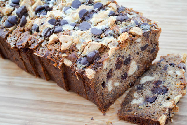 S'mores Banana Bread – I am a Honey Bee