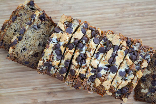 S'mores Banana Bread | I am a Honey Bee