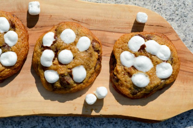S'mores Chocolate Chip Cookies-1