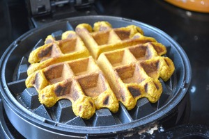 Browned Butter Pumpkin Waffles_10