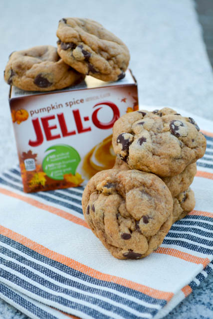 Pumpkin Pie Spice Chocolate Chip Pudding Cookies-2