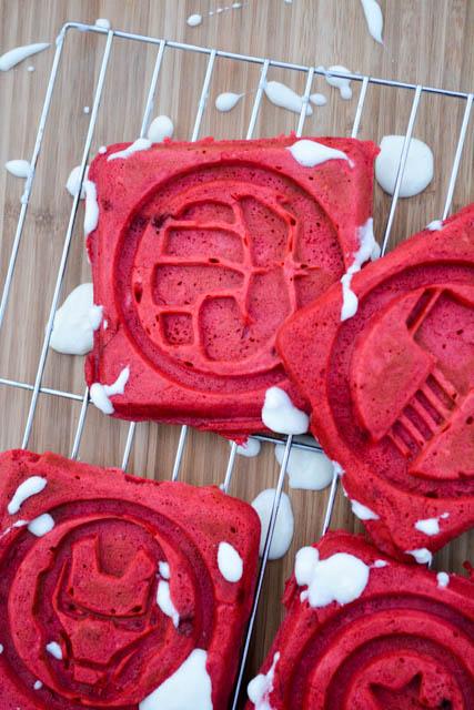 Red Velvet Waffles -4