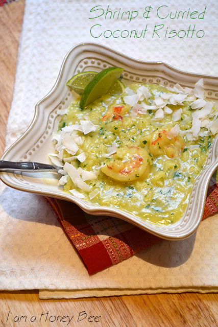 Shrimp and Curried Coconut Risotto