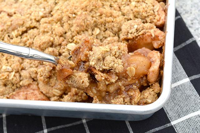 Oatmeal Cookie Apple Crisp_2