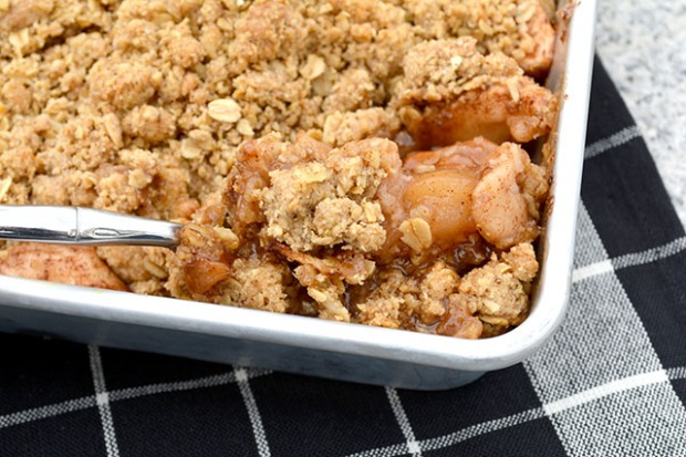 Oatmeal Cookie Apple Crisp_4