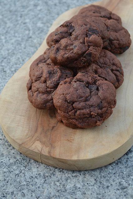 Chocolate Chunk Chocolate Pudding Cookies_03
