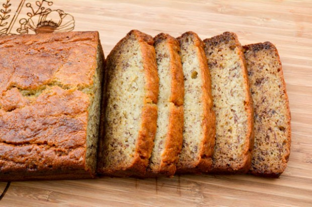 Buttermilk Banana Bread-3
