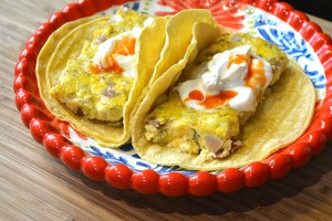 Bacon and Chilies Egg Bake Tacos_03