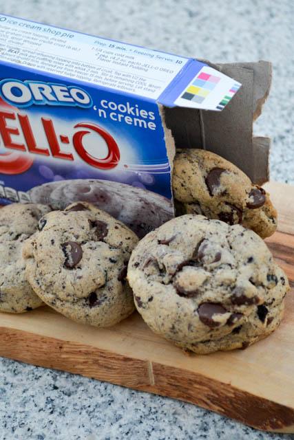 Oreo Pudding Chocolate Chip Cookies-3