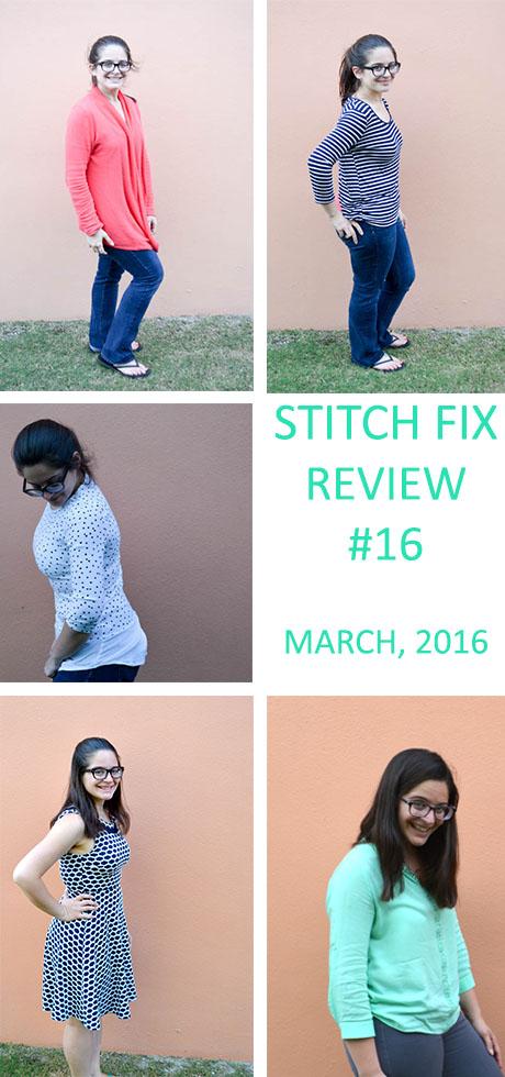 Stitch Fix Review- March 2016
