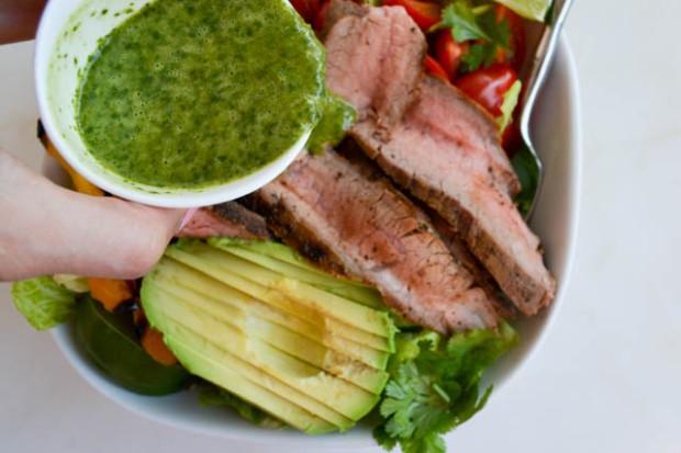 Grilled Steak Fajita Salad_01