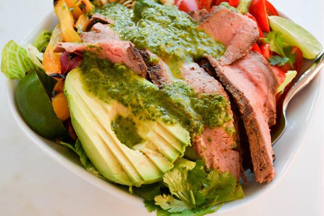 Grilled Steak Fajita Salad_02