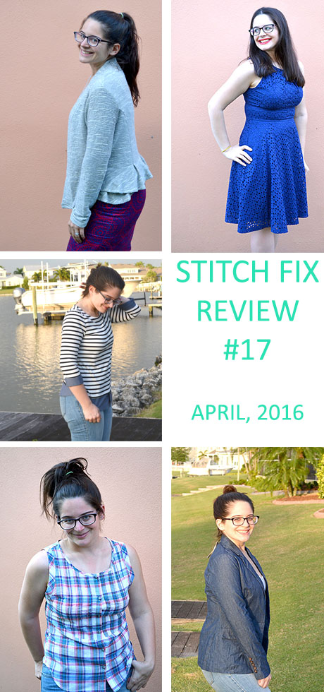 Stitch Fix Review- April 2016