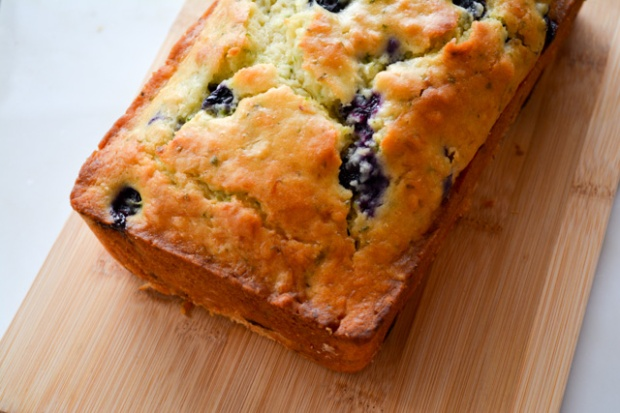 Blueberry Buttermilk Zucchini Bread-1