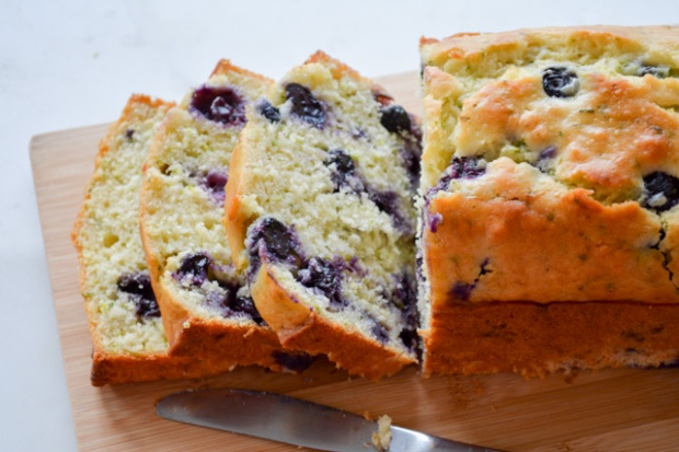 Blueberry Buttermilk Zucchini Bread-4