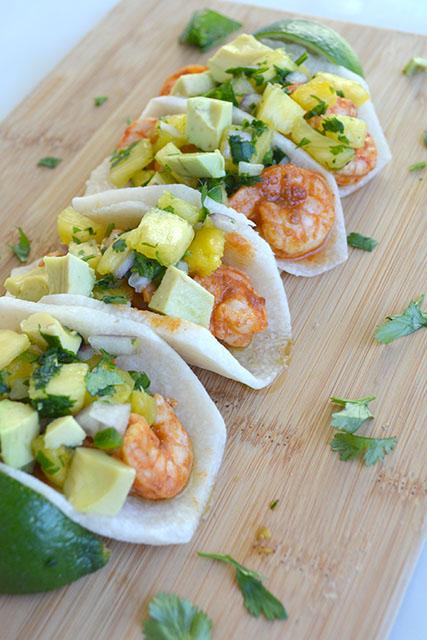 chipotle-shrimp-jicama-tacos-with-pineapple-salsa